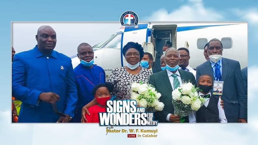 #Video: Pastor W.F Kumiyi arrives the city ofCalabar